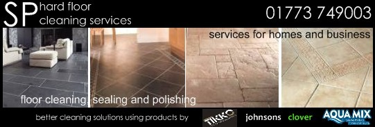 for all your hard floor cleaning in Nottingham, Derby, leicestershire call 01773 749003