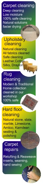 carpet and upholstery cleaning in Derby and Derbyshire