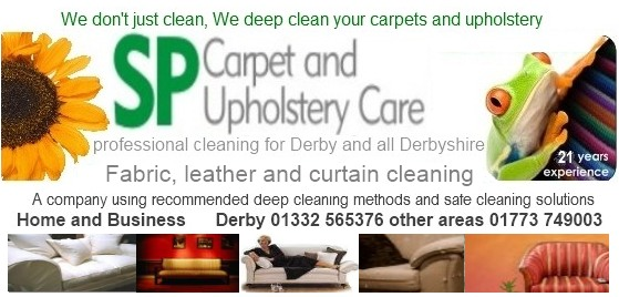 upholstery sofa curtain cleaning Derby